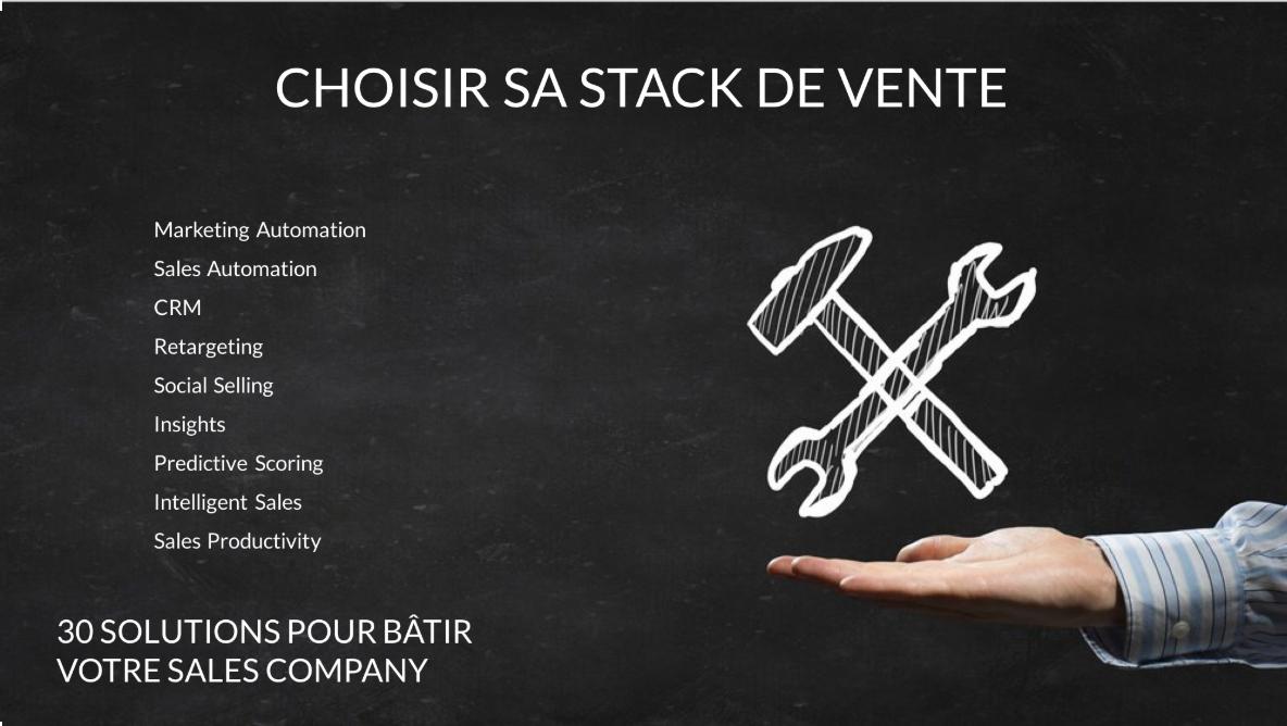 CHOISIR SA STACK DE VENTE - Outils de vente